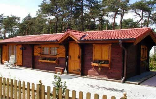 Chalet di legno l07 case di legno for Case prefabbricate in puglia