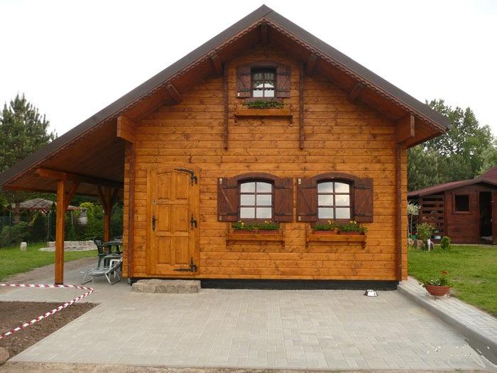 Chalet di legno l18 case di legno for Case prefabbricate di legno prezzi