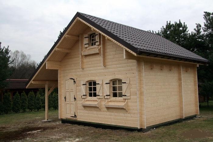 Chalet di legno l18 case di legno for Case di legnosr