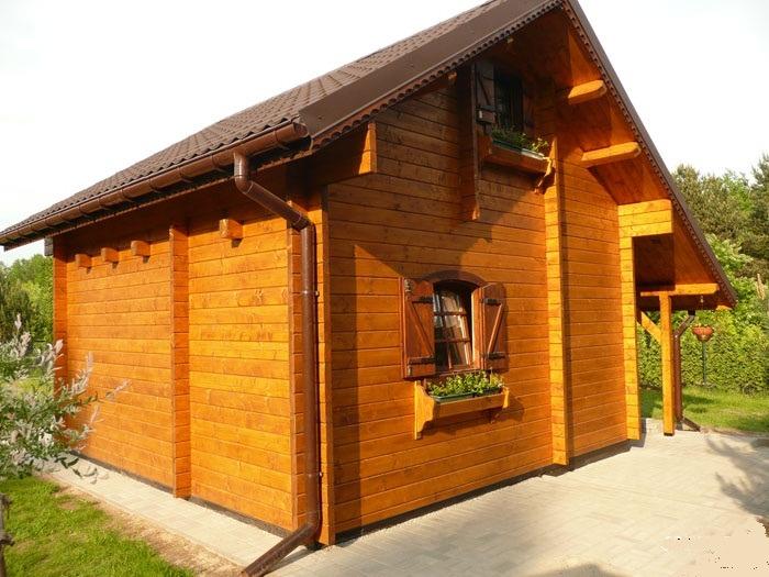 Chalet di legno l18 case di legno - Casa rubner prezzi ...