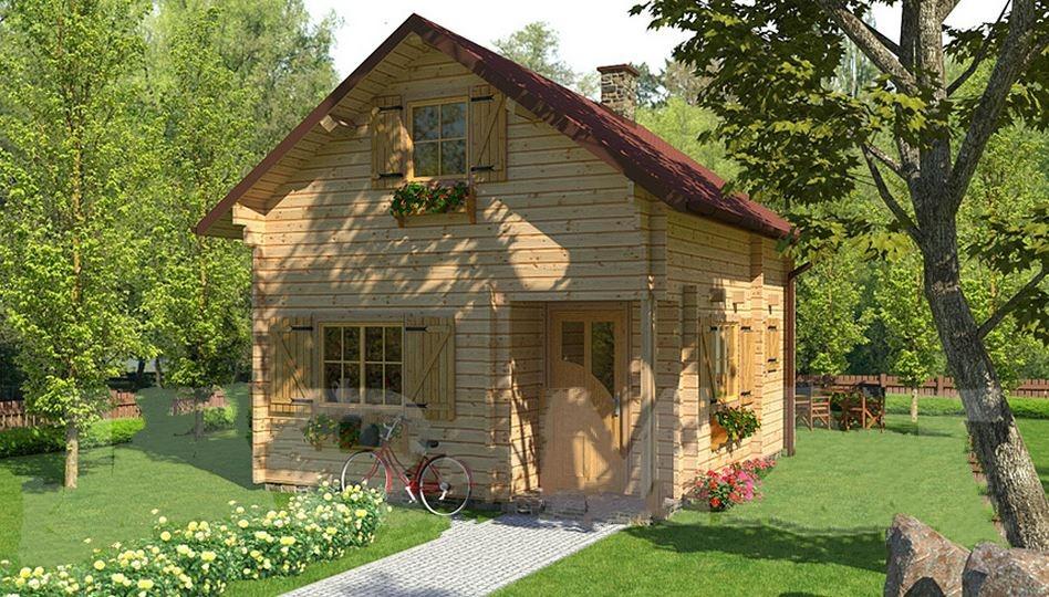 Case di legno prezzi chalet e case di legno abitabili for Case prefabbricate torino