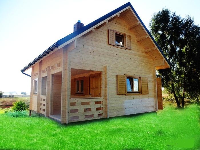 Case di legno prezzi chalet e case di legno abitabili for Piccoli piani bungalow