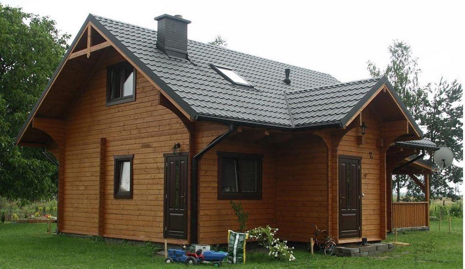 Marche case di legno prefabbricati chalet di legno pe for Case di legno in romania