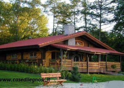 casa di legno prefabbricata