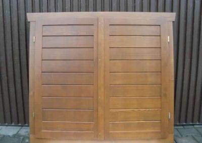 okna drewniane z okiennicami zdj.3
